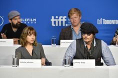 Dakota Johnson Photos Photos - (L-R) Actors Rory Cochrane, Dakota Johnson, Jesse…