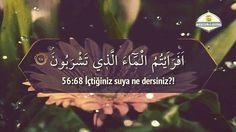 Vakıa Sûresi 63 - 70 #islam #muslim #islamic #islamicquotes #islamicreminder #muslimah #muslims #muslimquotes #allah #muhammadsaw #quran #iman