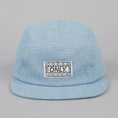 Only NY Tombs 5 Panel Cap Light Denim