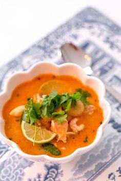 Thailändsk fiskoppa med röd curry - 56kilo.se -Lågkolhydrat recept, livsstil & inspiration