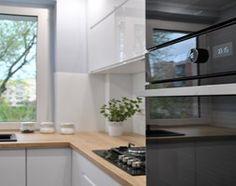 Aranżacje wnętrz - Kuchnia: skandynawska kuchnia w bloku - Średnia otwarta kuchnia w kształcie litery l z oknem, styl skandynawski - FORMA-MEBLE.PL . Przeglądaj, dodawaj i zapisuj najlepsze zdjęcia, pomysły i inspiracje designerskie. W bazie mamy już prawie milion fotografii!