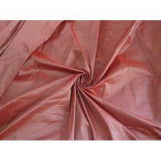 "SILK TAFFETA FABRIC 54""~Winter Cherry colour $18.00/yd"