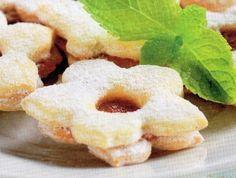 Linecké cukroví - dia Doughnut, Sugar Free, Diabetes, Peach, Candy, Desserts, Recipes, Food, Fitness