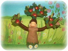 apple tree doll by Susannelfe