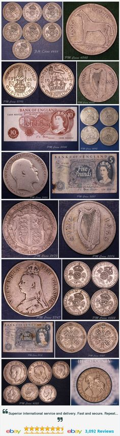 Ireland - coins and Banknotes, UK Coins - Halfcrowns items in PM Coin Shop store on eBay! http://stores.ebay.co.uk/PM-Coin-Shop