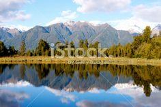 Lake Matheson, Tai Poutini National Park, New Zealand Royalty Free Stock Photo