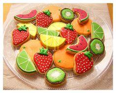Galletas de fruta