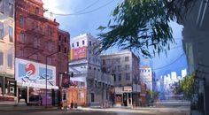 Sunset Overdrive Early Environment Concept, West Studio