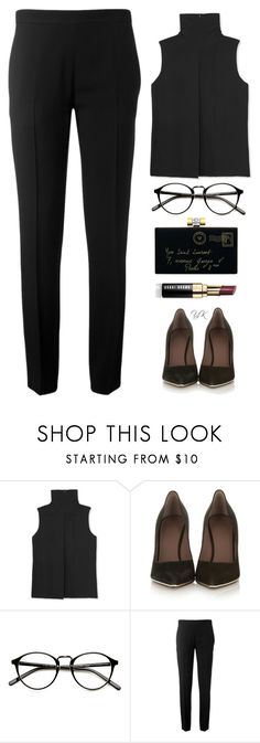 """Sign Of The Time"" by youryulianna ❤ liked on Polyvore featuring Vince, Yves Saint Laurent, Givenchy, Chloé, Bobbi Brown Cosmetics and modern"