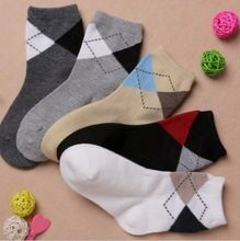 Meninos da criança meias de algodão, Crianças baratos curto meias para 1 - 6 anos de idade(China (Mainland))