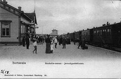 At the Railway Station, Sortavala.