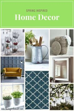 Here is some Spring decor inspiration for the home. Making the home beautiful for spring has never been easier with cox and cox