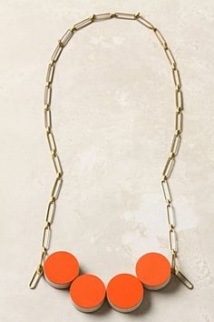 Whittled Rounds Necklace