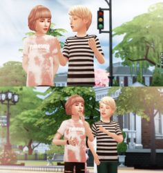 Sims 4 Children, Kids, Sims Stories, Play Sims, Emotional Child, Friend Poses, Kid Poses, Sims 4 Cc Finds, Sims Mods
