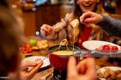 Stock Photo : Coworkers Eating Fondue Chocolate Covered Potato Chips, Chocolate Fondue Fountain, Frozen Cookie Dough, To Go, Chocolate Cheese, Chocolate Letters, Pasta Shapes, Raw Vegetables, Nutrition