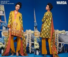 Warda Lawn 2017 3 piece Collection With Prices