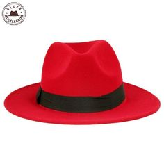 f8ee302aa6279 Jazz Fedora Hat. Hat And Scarf SetsWide-brim HatMen s HatsStylish HatsBlack  ...