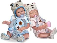 HOOMAI The Latest 20 inch 50 cm Lifelike Reborn Baby Dolls Silicone Full Body Boy and Girl Twins Newborn Accessories Kids Surprise Exquisite Brithday Gift *** You can get more details by clicking on the image. (This is an affiliate link) Reborn Baby Dolls Twins, Baby Dolls For Kids, Real Baby Dolls, Newborn Baby Dolls, Reborn Toddler, Reborn Dolls, Black Baby Boys, Twin Baby Boys, Twin Babies