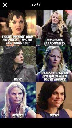 Awesome Regina/Evil Queen Regina and Emma