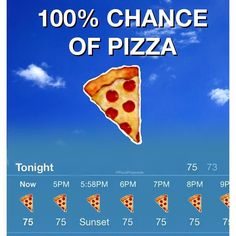 Our type of weather forecast with Happy … Unsere Art der Wettervorhersage mit Glücklicher nationaler Pizza-Party-Tag Amerika! Pizza Meme, Funny Pizza, Pizza Quotes, Food Quotes, Pizza Kunst, Pizza Lover, Pizza Branding, Pizza Art, Pizza Pizza