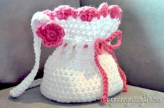 Free Crochet Pattern for a Crochet Little Girl's Purse