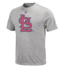 MLB Mens St. Louis Cardinals Bases Loaded Steel Heather Short Sleeve Basic Tee By Majestic by Majestic, http://www.amazon.com/dp/B000YEPWP0/ref=cm_sw_r_pi_dp_m3.Orb13R166R