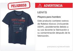 Levi's Playera   #Detox #Fashion