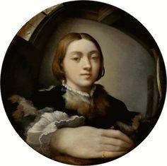 Parmigianino-Self-Portrait-in-a-Convex-Mirror-1524