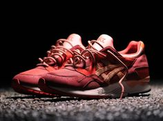 """e408d163563b Here s the Ronnie Fieg ASICS Gel Lyte V that he dubbed """"Volcanoes"""" . These  kix features his favorite canvas"""