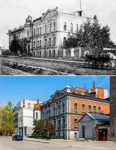 Отель «Метрополитен» на 14 номеров, был построен в 1905 году на улице Дворцовой. Mansions, House Styles, Places, Manor Houses, Villas, Mansion, Palaces, Lugares, Mansion Houses