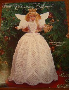 VICTORIAN CHRISTMAS ANGEL Crochet Barbie doll pattern door 2oldhaggs
