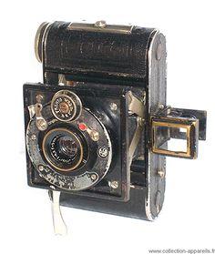 Balda Piccochic Vintage cameras collection by Sylvain Halgand. 1931