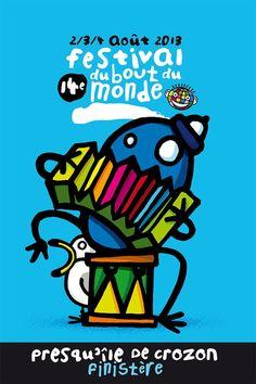 Festival du Bout du Monde Crozon les 2, 3 et 4 août 2013 | Finistère Bretagne