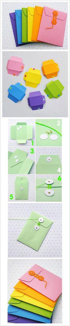 DIY Umschlag von meethere.cn