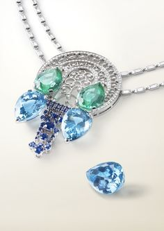 Van Cleef & Arpels Aquamarine composition