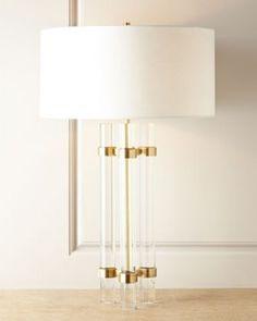 lucite floor lamp - Google Search
