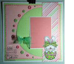 Fun and colorful Easter Layout!