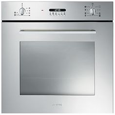 Buy Smeg Cucina Multifunction Oven With New Style Controls - Stainless Steel from Appliances Direct - the UK's leading online appliance specialist Stainless Steel Appliances, Kitchen Appliances, Built In Electric Oven, Single Oven, Kitchen Dining, Building, Interior, Home