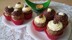 Muffinky plněné vanilkovým krémem