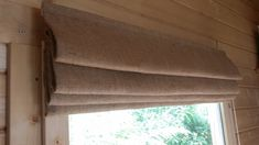 Made to order Hessian interlined Roman Blind Best Insulation, Hessian, Roman Blinds, Curtains, Treehouse, Simply Beautiful, Interior Ideas, Kitchens, Industrial