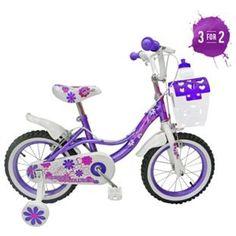 Buy Spike 14 Inch Bike - Girl's at Argos.co.uk, visit Argos.co.uk to shop online for Children's bikes, Children's bikes