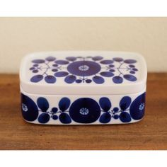 Hakusan Japan butter dish