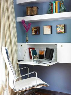 Solve workspace challenges with our ideas for creating a home office in just about any area of your house.