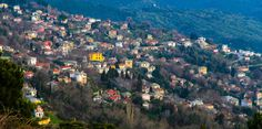 View of Milies from Vyzitsa. Skiing, Greece, Trail, River, Architecture, Nature, Summer, Outdoor, Beautiful