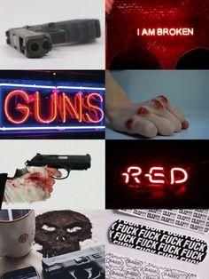 Jason Todd / Red Hood aesthetic (created by @jg_thirteen)