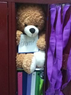 Aweee how cute and she gets to keep the teddy bear...