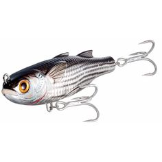 Mullet Twitchbait,silver/black,#2
