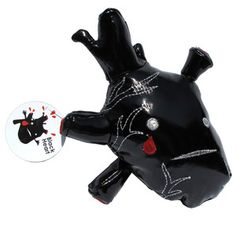 Black Heart Plush now featured on Fab.