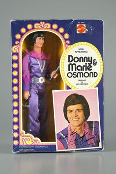 97.884: Donny Osmond | doll | Dolls from the Seventies and Eighties | Dolls | National Museum of Play Online Collections | The Strong