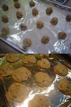 Las galletas de chispas de chocolate (tipo zuckys)